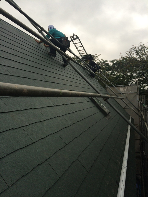 屋根が完成しました!_a0148909_1184642.jpg