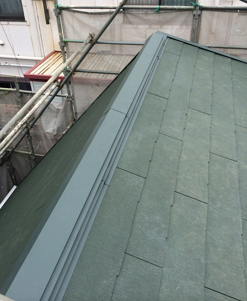 屋根が完成しました!_a0148909_1436553.jpg