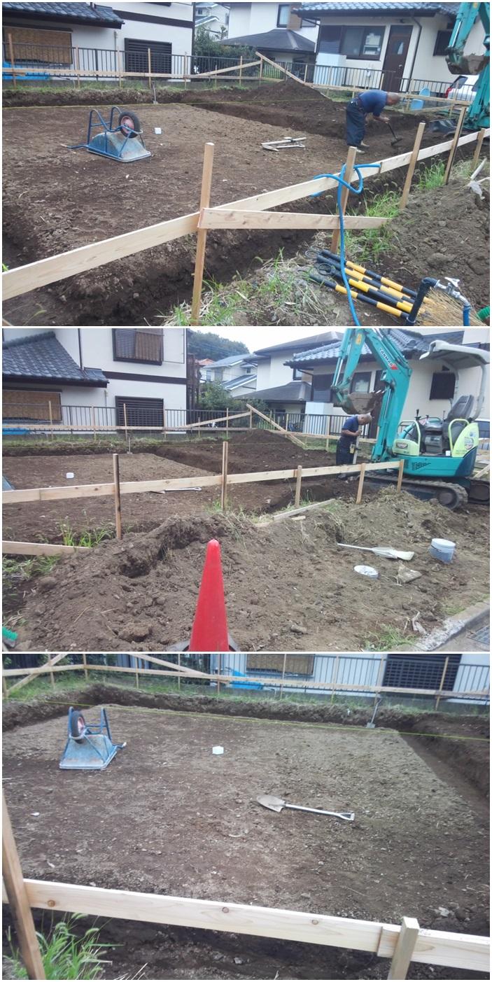海老名市の家☆基礎工事が始まりました_c0152341_23281126.jpg