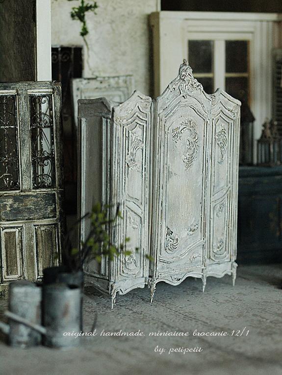 miniature* Brocnte な家具 2_e0172847_13424866.jpg