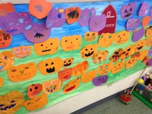 Halloween Decoration Part 2☆ 素敵なポスターになりました!_f0206153_12544038.jpg