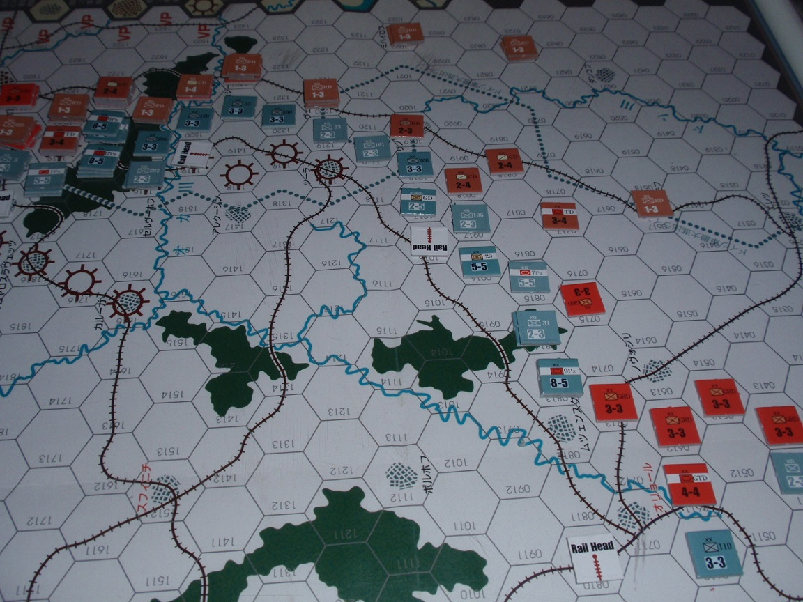 AD/GJ「東部戦線 冬季戦 1941-42」をソロプレイ④_b0162202_18151181.jpg