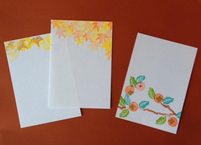 『秋』のポストカード入荷しました!_b0112371_11292296.jpg