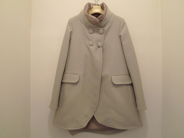 HERNO A-LINE 4BUTTON DOWN COAT_f0111683_13343205.jpg
