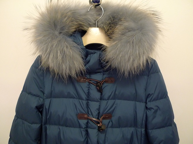 HERNO POLAR-TECH DOWN DUFFLE COAT:SORRY,SOLD OUT!_f0111683_15023245.jpg