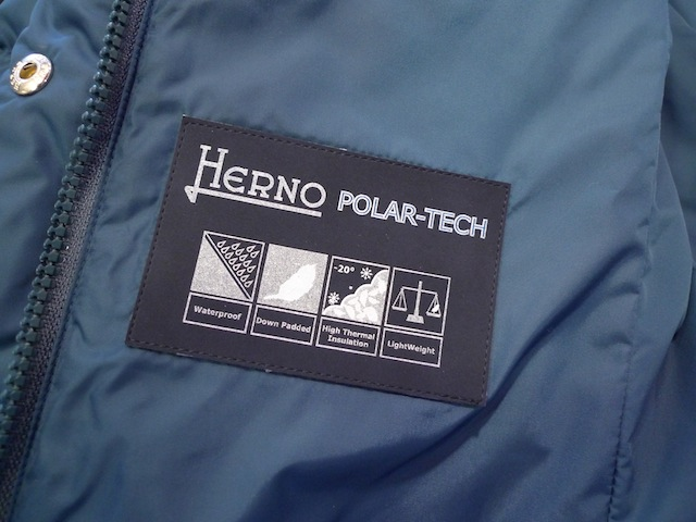 HERNO POLAR-TECH DOWN DUFFLE COAT:SORRY,SOLD OUT!_f0111683_15023853.jpg