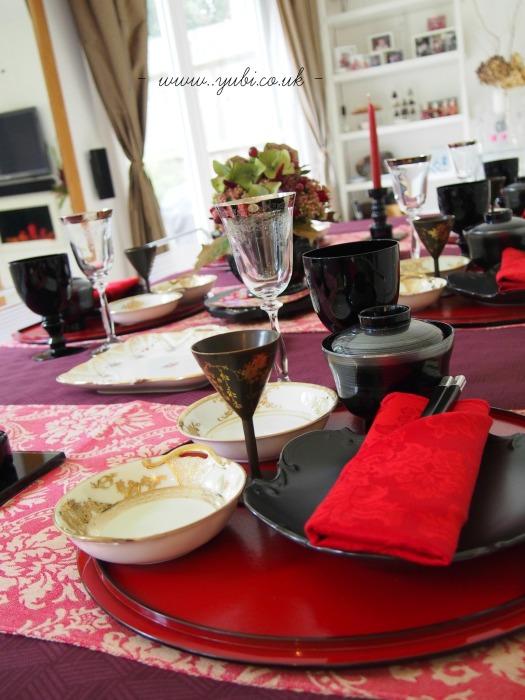 和洋折衷(日英折衷)テーブルコーディネートでたこ焼きパーティー♪_b0313387_06284571.jpg