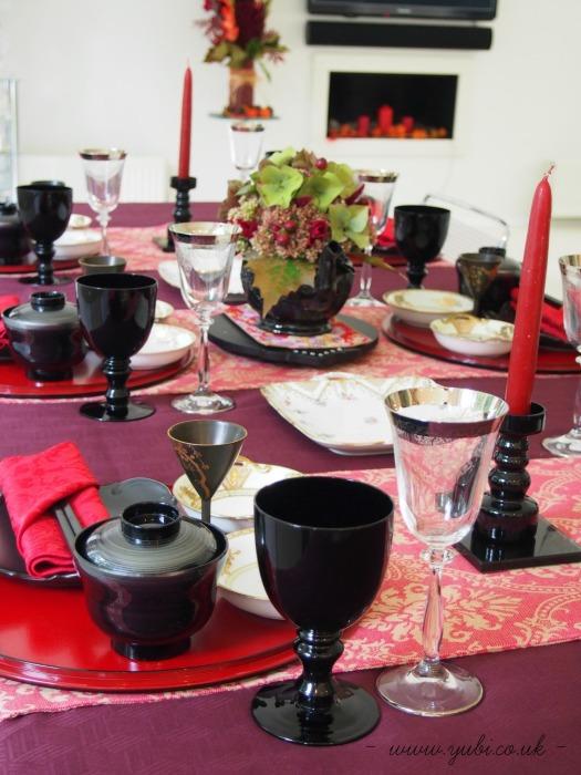 和洋折衷(日英折衷)テーブルコーディネートでたこ焼きパーティー♪_b0313387_06352372.jpg
