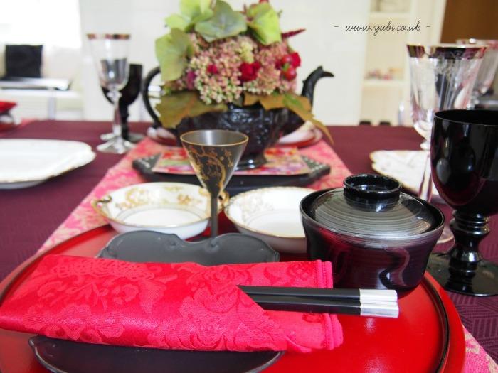 和洋折衷(日英折衷)テーブルコーディネートでたこ焼きパーティー♪_b0313387_06384328.jpg