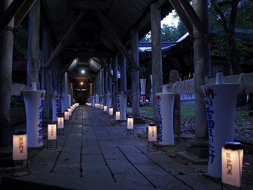 「毘沙門さま夜参りとほの灯り」 に行ってきました_c0336902_10244453.jpg