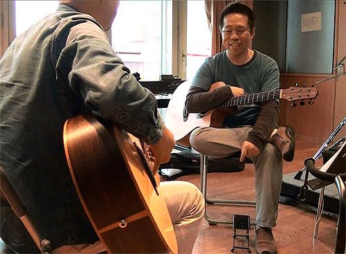 楽しい! 『ソロ・ギターのための練習曲集』の練習!!_c0137404_20373594.jpg