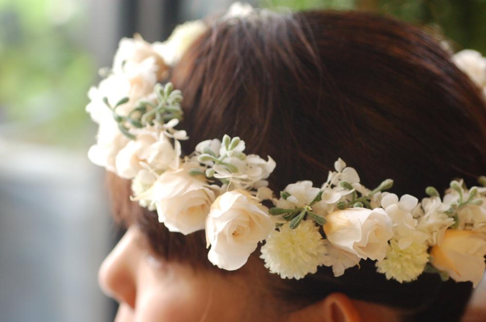 プリザーブド・ドライフラワーのロマンティック 花冠&ブーケ♪_a0060141_17051559.jpg