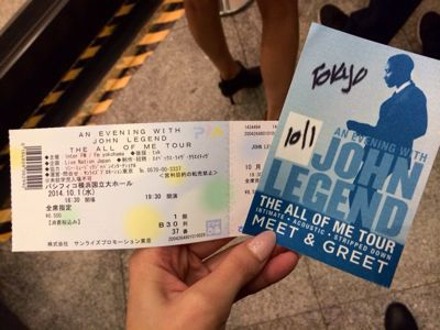 John Legend来日公演☆_c0151965_23375675.jpg
