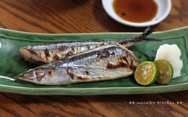 シーズン初  生秋刀魚♪_c0139375_16541616.jpg