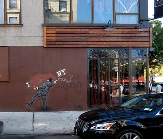"""2年経っても消されないNick Walkerさんのグラフティ・アート、\""""I ♥ NY\""""壁画_b0007805_2111308.jpg"""