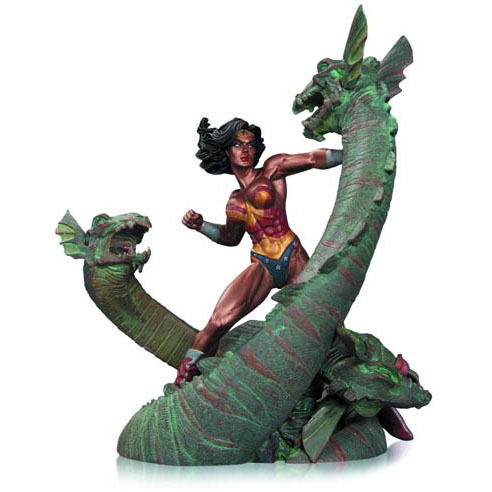 Wonder Woman vs. Hydra Mini Patina Statue_e0118156_2341998.jpg