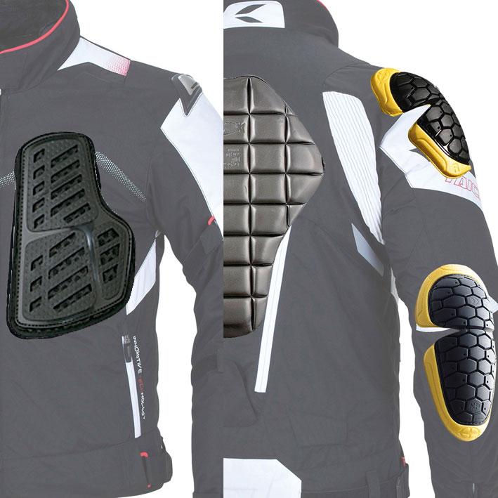 RSタイチ・最上級のプロテクションジャケット! 「アームドオールシーズンジャケット」_b0163075_99573.jpg