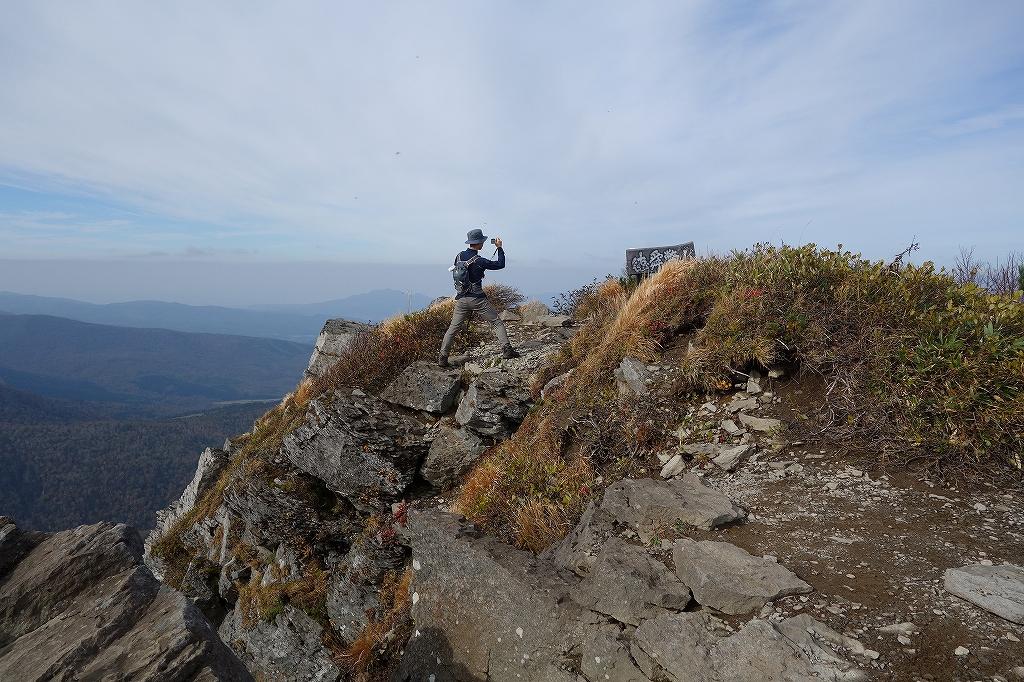 ホロホロ山と徳舜瞥山、10月5日-その1-_f0138096_11423592.jpg