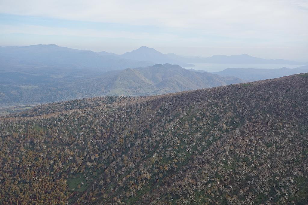 ホロホロ山と徳舜瞥山、10月5日-その1-_f0138096_114250100.jpg