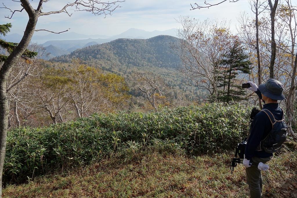 ホロホロ山と徳舜瞥山、10月5日-その1-_f0138096_1142966.jpg