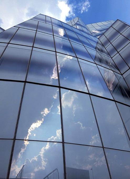 NYのフランク・ゲーリー建築の代表作の1つ、IAC本社ビル_b0007805_22221067.jpg