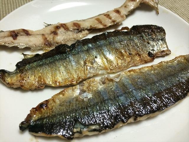 秋の秋刀魚を3枚におろす_f0207410_17343672.jpg