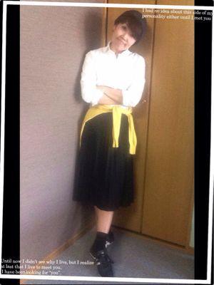 アラフィフコーデ 脇役さんでイメージが変わる_f0249610_2033651.jpg