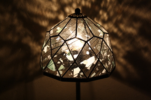 工房「KAZ」  ステンドグラスの灯り  _a0260022_14122592.jpg
