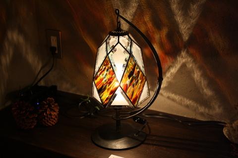 工房「KAZ」  ステンドグラスの灯り  _a0260022_14133871.jpg
