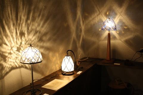 工房「KAZ」  ステンドグラスの灯り  _a0260022_1413489.jpg
