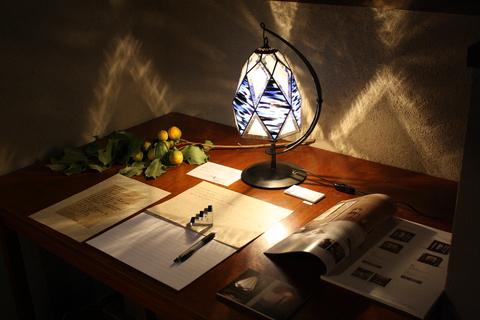 工房「KAZ」  ステンドグラスの灯り  _a0260022_14154696.jpg