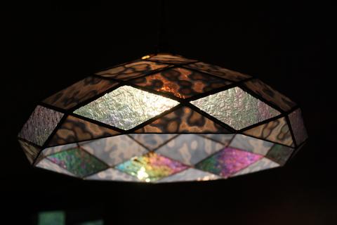 工房「KAZ」  ステンドグラスの灯り  _a0260022_14162120.jpg