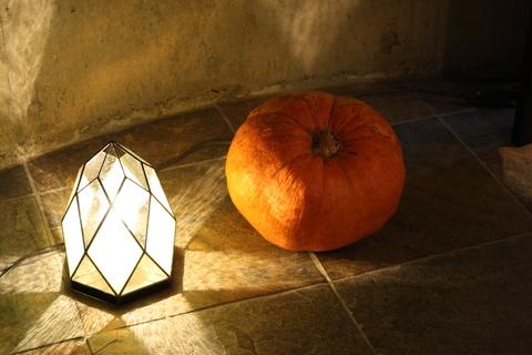 工房「KAZ」  ステンドグラスの灯り  _a0260022_1594957.jpg