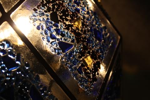 工房「KAZ」  ステンドグラスの灯り  _a0260022_1632960.jpg