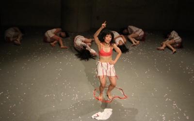 マドモアゼル・シネマ『赤い花・白い花、それから』の東京公演終わる_d0178431_14453514.jpg