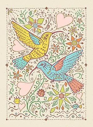 Humming〜3〜Peacecard展_f0152544_21225798.jpg