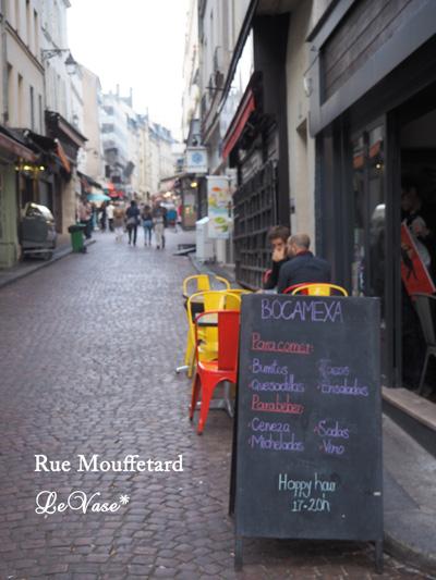 Parisでも最も古い通りRue Mouffetard_e0158653_17314144.jpg