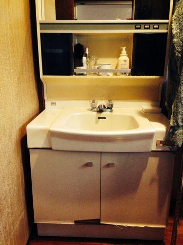 IKEAで洗面台のリフォーム_f0131255_955817.jpg