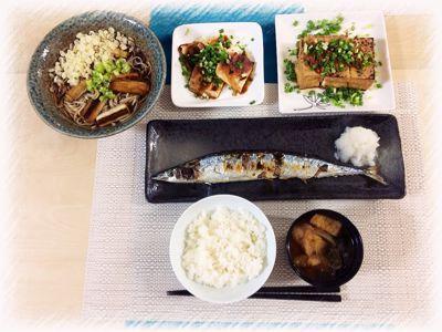 さんま定食⭐️_c0151965_284257.jpg