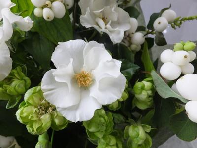 オークリーフ(シンプルな花束)_f0049672_1401523.jpg