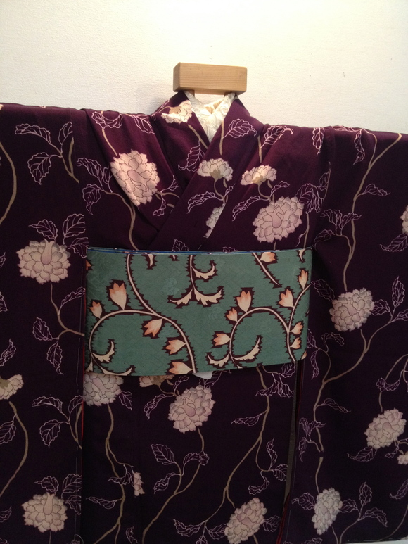 明日より!「レトロ着物と古道具」紫椿着物♪販売商品20_c0321302_736442.jpg