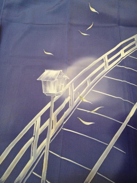 明日より!「レトロ着物と古道具」レア!月夜に柳雀着物♪販売商品28_c0321302_8241189.jpg