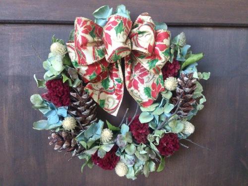 クリスマスリースワークショップのお知らせ。_e0060555_21291015.jpg