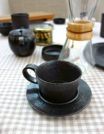 Bizen CAFE 3〜今回は黒と白の世界_a0017350_02484886.jpg