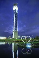 「夜景を見に行かNight」/「クロスランドタワー」_c0208355_1632012.jpg