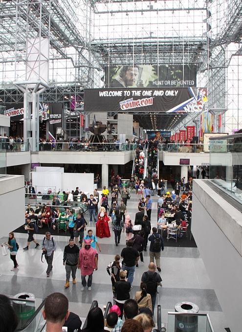 NYコミック・コン 2014(New York Comic Con)初日レポート_b0007805_21375526.jpg