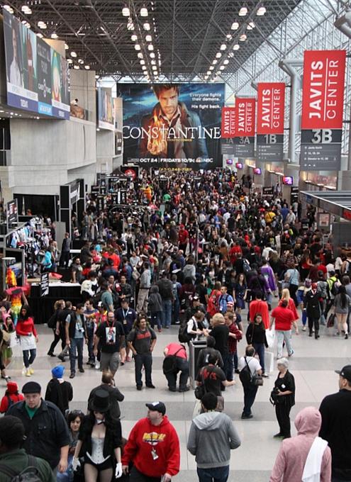 NYコミック・コン 2014(New York Comic Con)初日レポート_b0007805_21391147.jpg