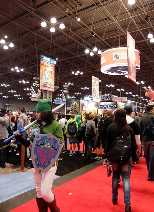NYコミック・コン 2014(New York Comic Con)初日レポート_b0007805_21393230.jpg