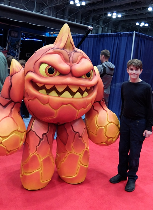 NYコミック・コン 2014(New York Comic Con)初日レポート_b0007805_21401654.jpg