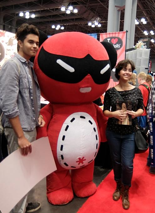 NYコミック・コン 2014(New York Comic Con)初日レポート_b0007805_21402962.jpg